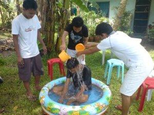 Louie Dan's Baptism