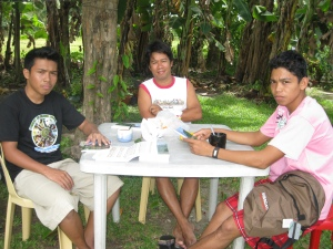 Having Reltional Discipleship with Albert and Jomy